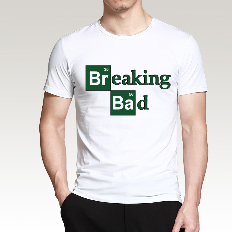 ALI shop ...  ... 32791089165 ... 5 ... Hot Sale Breaking Bad Heisenberg Men T Shirts 2019 Summer Fashion Casual 100% Cotton  T-Shirt Streetwear Slim Fit Top Tees S-3XL ...