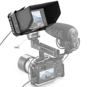 """Image 5 - Smallhd 501/502 for smallrig sunhood monitor cage painting """"sunshade hood 2177 fitted monitor protection cage"""
