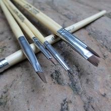 6pcs/set Paint Brushes Makeup Body Painting Face Paint Brush Set Make up Brush Tools