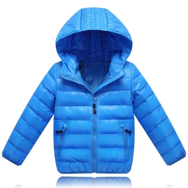 Детские конфеты Пальто зима осень бренд девочек и мальчиков куртка дети верхняя одежда в шляпе детский вскользь теплую одежду