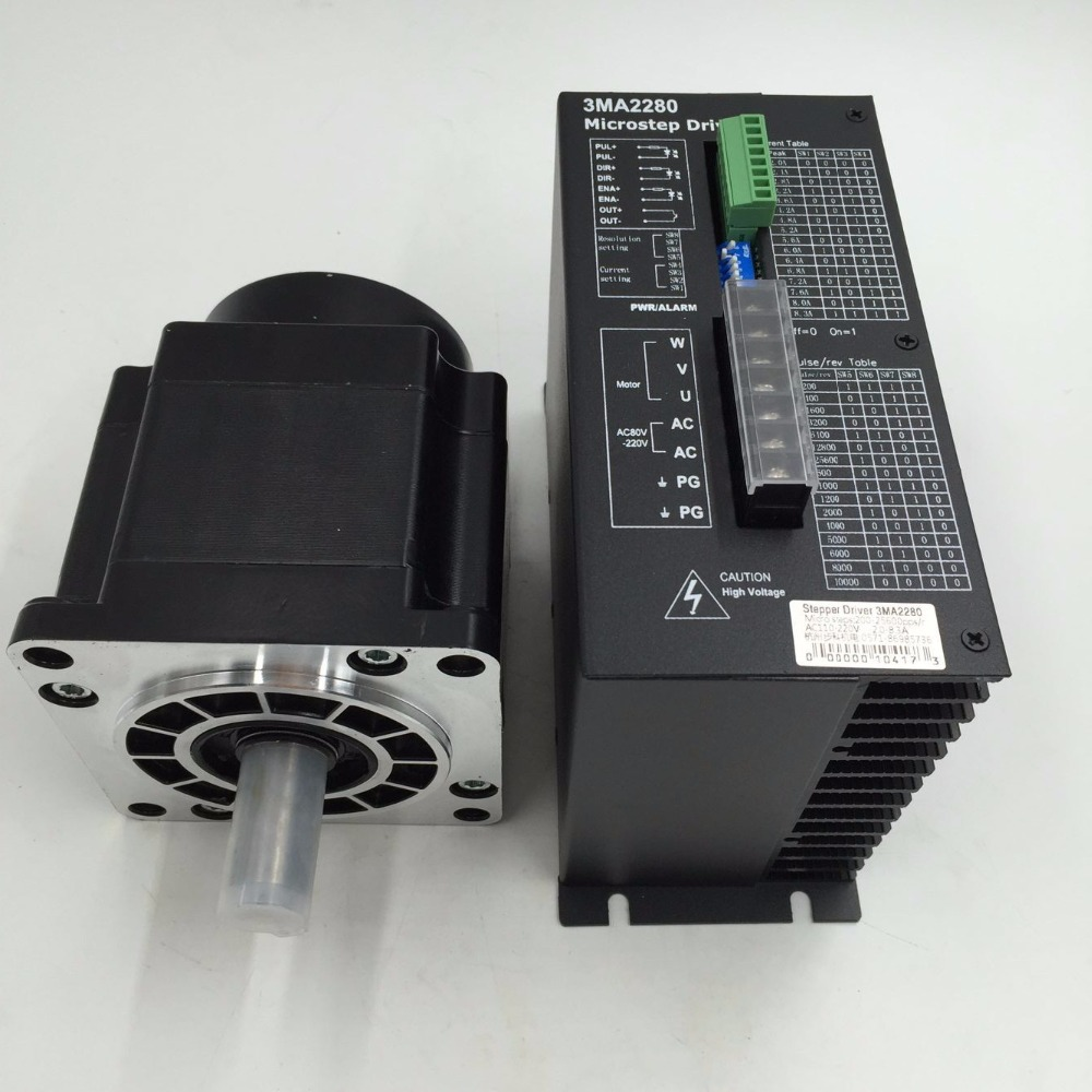 High torque cnc stpper kits 12nm 3 phase stepper motor for Three phase stepper motor driver