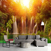 Custom 3D Wall Mural Photo Wallpapers Modern Living Room Sofa TV Background Art Painting Sunshine Forest