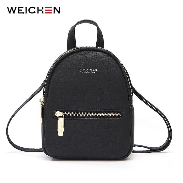 Weichenデザイナーファッション女性バックパックソフトレザー女性スモールバックパック女性のショルダーバッグmochilaバックパック 2020 bagpack