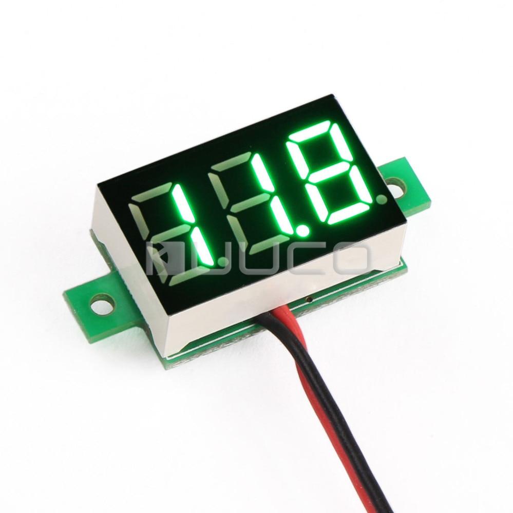 """0.36"""" Green Led Display Digital Voltmeter DC 3.0~30V Volt Meter DC 12V 24V  Voltage Tester-in Instrument Parts & Accessories from Tools on  Aliexpress.com ..."""