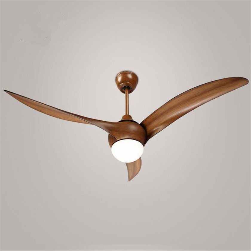 LED Ceiling Fan 52inch American Ceiling Fans Lustres For Living Room with remote control Modern Cooling Fan lights Fixtures remote control fan chandelier home mute living room solid wood fan chandelier lights american antique retro chinese lights fan
