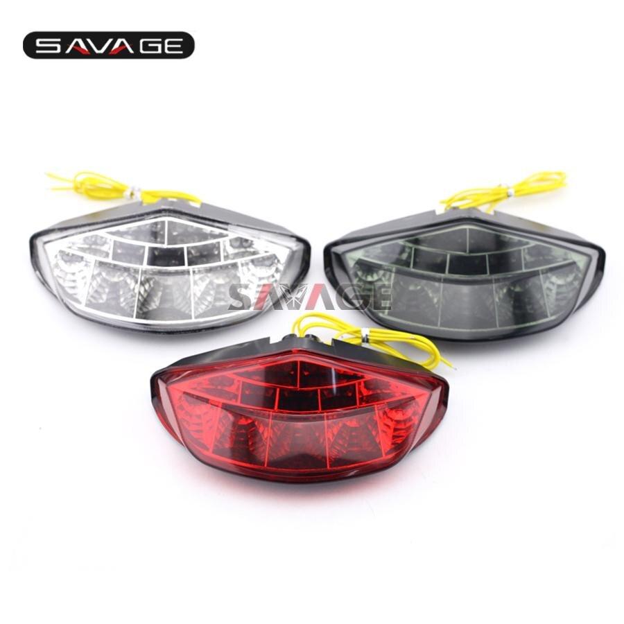 Для Ducati Monster 659 696 795 796 1100/S/EVO Аксессуары для мотоциклов встроенный светодиод Фонарь поворотов мигалка лампа