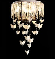 Beautiful Lovely Angel Crystal Chandelier Light Fixture 3 Kinds Of Size Guaranteed 100 Free Shipping