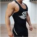 2016 anos Os homens colete longarina loa muscular musculação camisa colete camisola de algodão Corpo de Engenheiros da marca