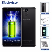 Blackview P2,6000 mAh Battery,5.5″ FHD Metal Body smartphone,Android 6.0 MT6750T octa core 4GB RAM 64GB ROM cellphone