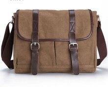 Free Shipping  HOT Canvas crossbody bag men, vintage Canvas messenger bags laptop canvas satchel men for handbag