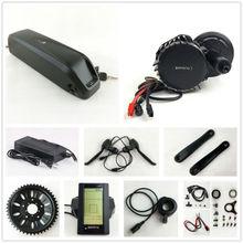 Ningún Impuesto Bafang BBS03 EE. UU. UE 48 V 1000 W 8Fun Bicicleta Eléctrica BBSHD kit de Motor de mediados de coche con 52 V 14Ah Tiburón celular Sanyo Batería del eBike