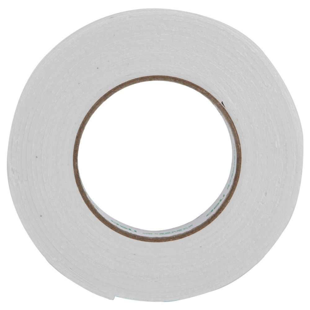 Deli 1 stück 24mm * 5y Doppel-klebeband Hohe Qualität Weiß Leistungsstarke Doppelseitigen Klebeband foam Doppelseitiges Klebeband Liefert