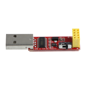 Image 2 - פתוח חכם USB כדי ESP8266 ESP 01 Wi Fi מתאם מודול w/ CH340G נהג