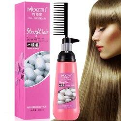 Mokeru 150 мл простое использование гладкого выпрямления волос питательный крем для выпрямления волос для женщин Уход за волосами крем для выпр...