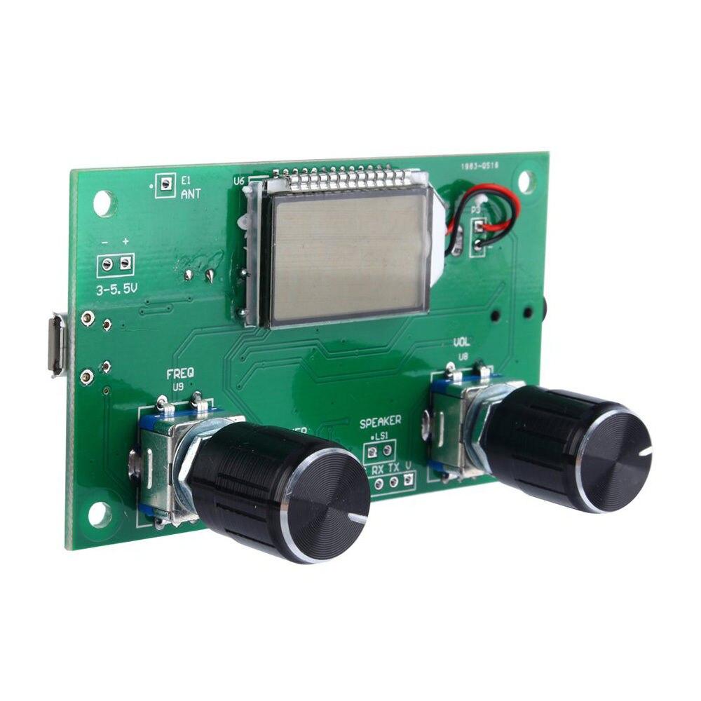 Unterhaltungselektronik Kenntnisreich Dsp & Pll Digital Stereo Fm Radio Empfänger Modul 87-108 Mhz Serielle Steuerung Fall