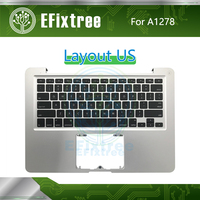US A1278 Topcase Case Top Case With Keyboard Backlight English For Macbook Air Plamrest 13.3 inch EMC 2419 2555 2454 2011 2012