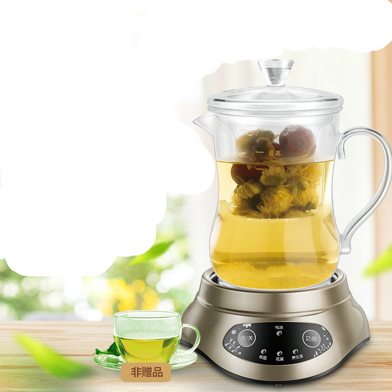 Electric kettle raised pot automatic glass split body boiling water small hot cup tea office flower teapot Overheat Protection original f1 robot vacuum cleaner side brush 2 pcs middle brush 1 pc spare parts supply from the factory