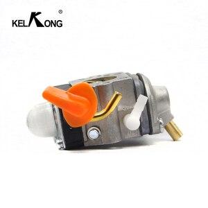 Image 4 - KELKONG Carburetor For Stihl FS87 FS90 FS100 Carb KM100 FS110 KM110 FS130 KM130 HT130 Trimmer Engine Replace ZAMA C1Q S173 S176