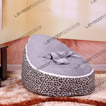 FRETE GRÁTIS saco de feijão bebê com 2 pcs cinza up covers sofá preguiçoso cadeira do saco de feijão bebê crianças cadeira do saco de feijão saco de feijão tampa de assento