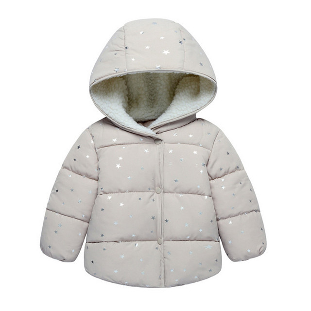 Baby Girls Clothes,Children Winter long sleeve Warm Jacket & Outwear,Girls Cotton-padded Outwear Baby Girls Coat for Christmas 5