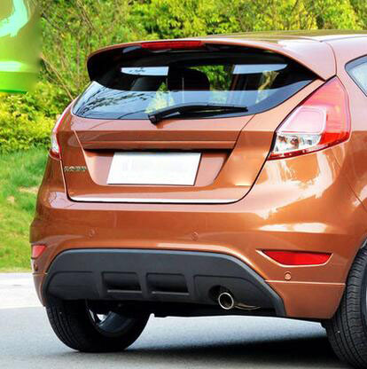CARBON REAR WINDOW COVER FOR FORD FIESTA 5 DOOR 2011 HATCHBACK