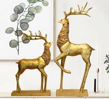 17.5*9*34CM Creative elk animal women mannequin body home crafts decorations ornaments Wedding clothing store Resin 2PC/LOT A165