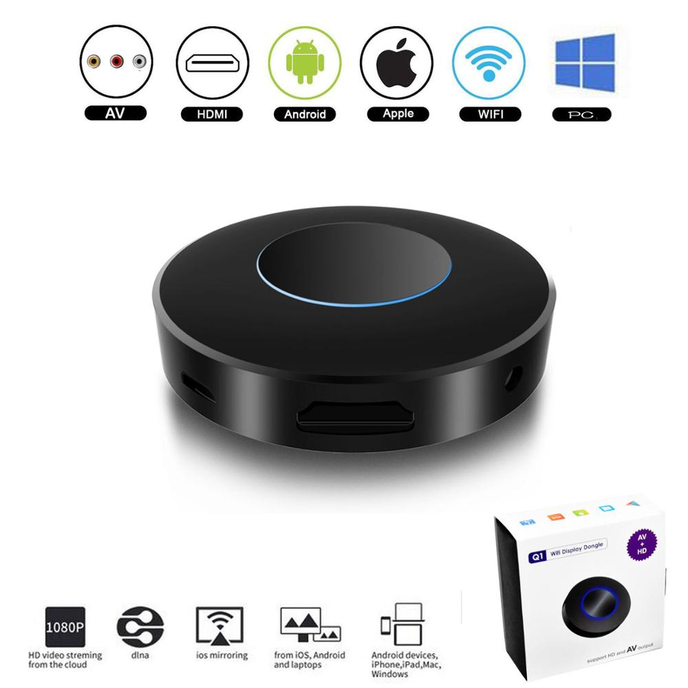 Montoview <font><b>TV</b></font> Stick Wireless HDMI AV RCA Heraus Wifi bildschirm mirroring Display Airplay <font><b>Android</b></font> miracast auto <font><b>Dongle</b></font> zu HDTV fahrzeug image