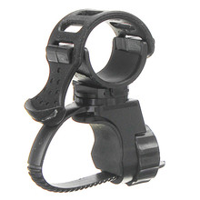 360 Swivel Bicycle Cycle Bike Front Torch Mount LED Head Light Holder Clip Rubber For 20-45mm Diameter Flashlight