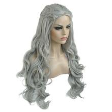 "StrongBeauty Daenerys Targaryen Dragon Princess Cosplay Wig Halloween Costume Wigs Synthetic 32"" in Net weight 500g"