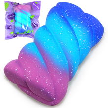 Jumbo Squishy Galaxy Marshmallow Super Slow Rising Cream Scented Original Package Squeeze Toy