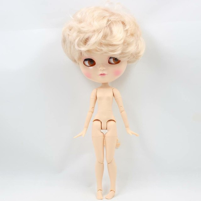 Free Shipping Fortune Days Icy Doll 1 6 Joint Body Blonde Short Hair