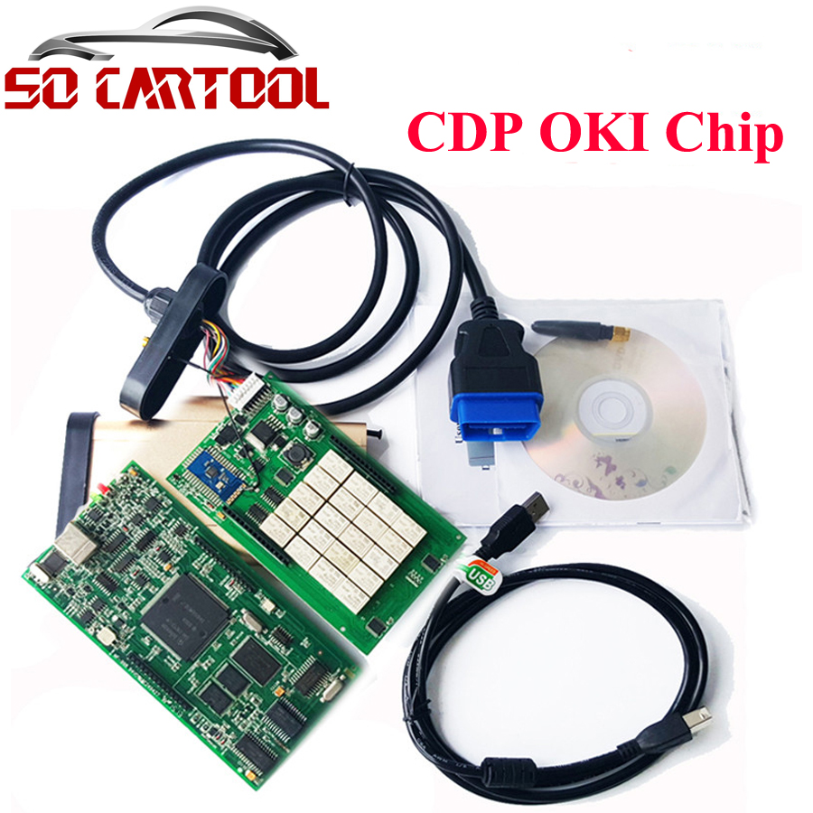 Подробнее о (3Pcs/lot) DHL Free Golden TCS CDP PRO With Bluetooth CDP with oki chip( M6636B OKI Chip) for Cars & Trucks 3 in 1 dhl free shipping factory price wow cdp with bluetooth for cars and trucks tcs cdp pro v5 008r2 keygen free send by email