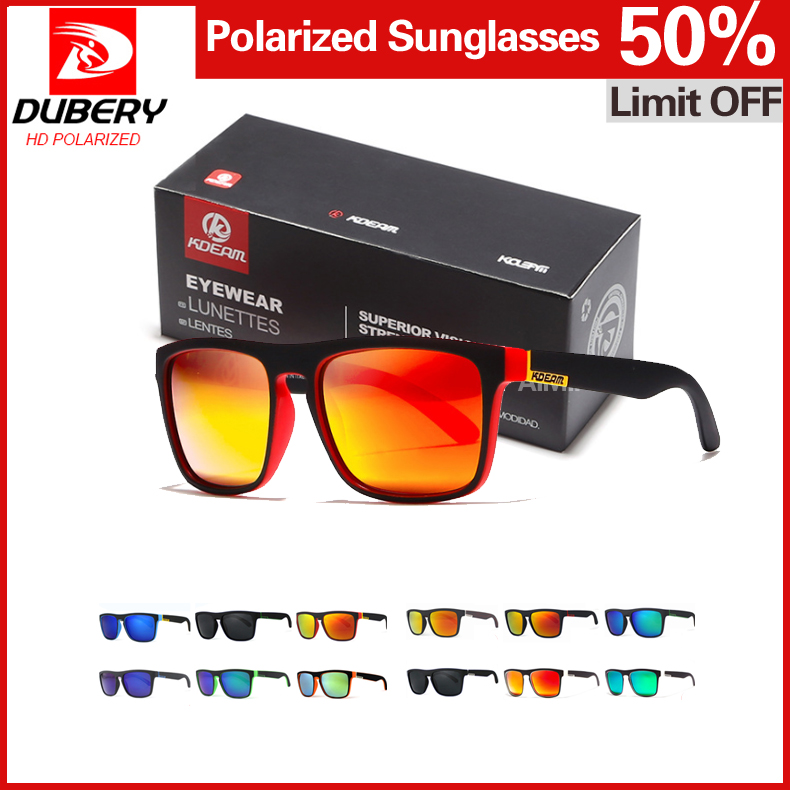 5ad651668b Highly Recommended KDEAM Mirror Polarized Sunglasses Men Square Sport Sun  Glasses Women UV gafas de sol