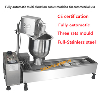 Fully Automatic Donut Maker Multi Functional Donut Making Machine Commercial Use Stainless Steel Donut Maker