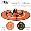 PGY Fast-fold landing pad heliponto protetora RC Drone Quadcopter cardan peças de helicóptero dji fantasma 2 3 4 inspire 1 mavic Pro