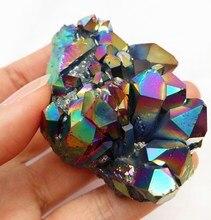 Titanium Quartz Crystal Cluster