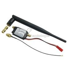 2.4GHz 2W Mini Amplifier Remote Controll Range Extender for FPV Transmitter Black/White