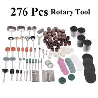 276pcs Rotary Tool Multifunction Drill Bits Rotary Tools Accessories Kit Universal for Dremel Grinding Engraving Polishing Tools