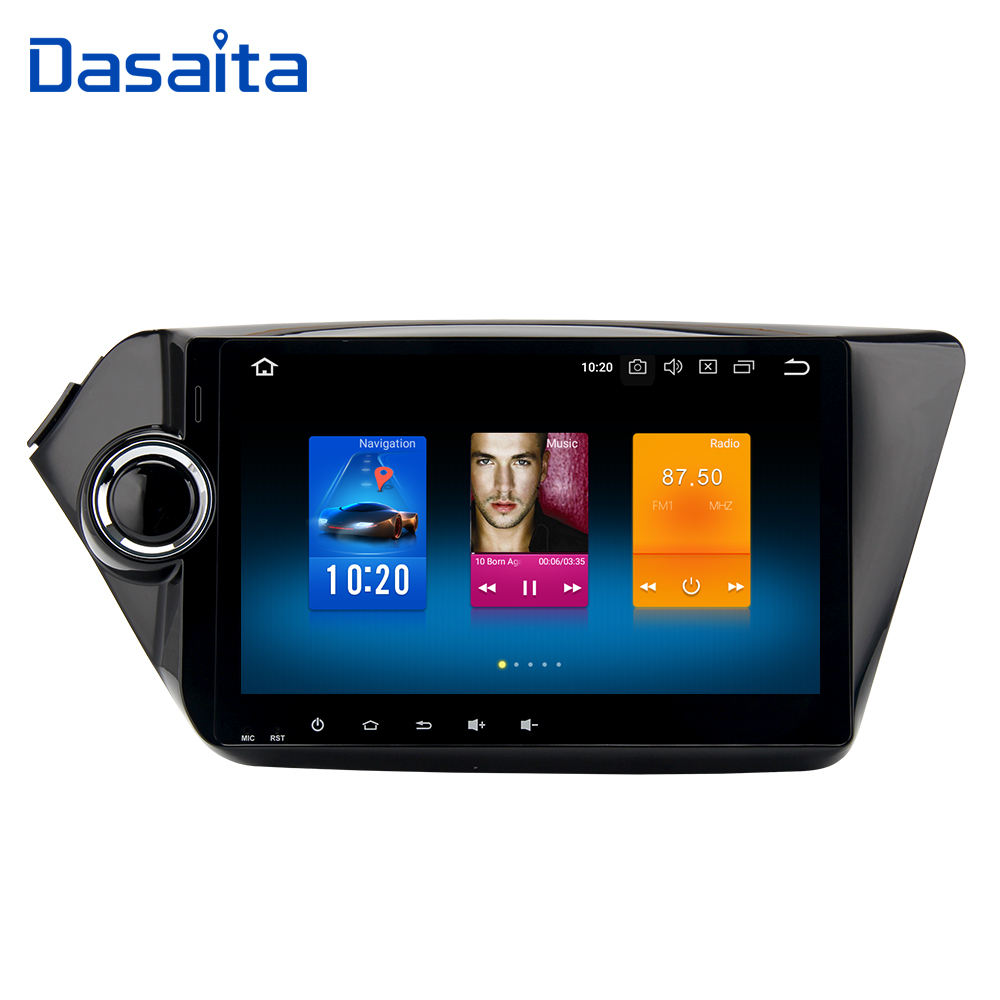 9 Android 9 0 2 Din Car Radio for KIA K2 Rio Multimedia with 4g 32g