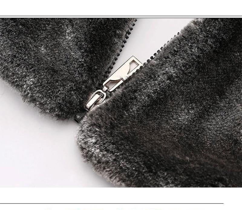 HONGZUO ерлерге арналған жасанды матадан - Ерлерге арналған киім - фото 6