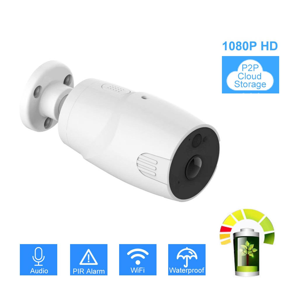 Hot Sale] 1080P WiFi Camera Battery Powered 2 0MP HD Outdoor
