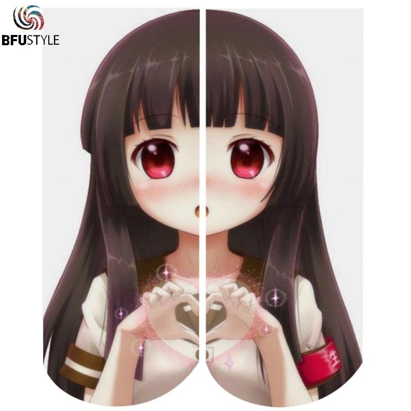 Ahegao Anime Art Socks Men Women 2018 Hot Sale Short Cotton Ankle Socks Casual Hip Hop Skateboard Compression Socks Sokken