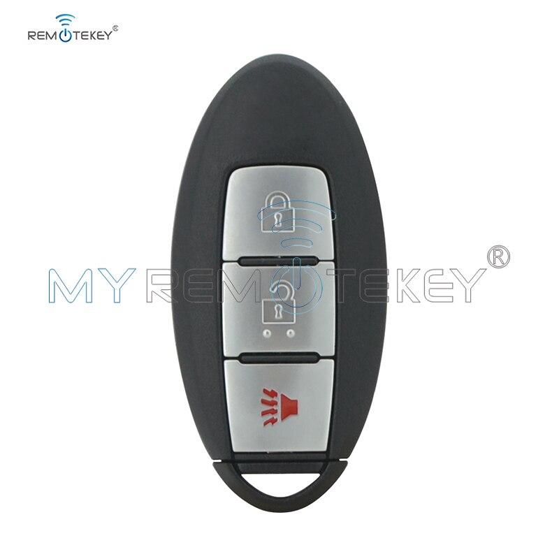 Remtekey S180144005 KR5S180144014 clé de voiture intelligente pour Nissan Pathfinder 2013 2014 2015 3 bouton 433mhz 47 puce clé de voiture