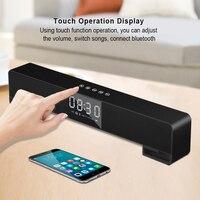 ZAPET Wireless Touch Bluetooth Speaker Portable Speaker with display Support alarm clock Soundbar Stereo Bass altavoz bluetooth