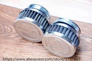 Image 2 - Воздушный фильтр из нержавеющей стали для мотоцикла, 46 мм 48 мм 50 мм 52 мм 54 мм 60 мм, очиститель для SR400 CB550 CB750 Kawasaki KZ650, 1 шт.