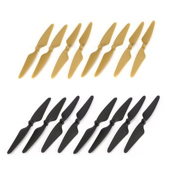 8 Pairs CW/CCW RC Propellers Props Blade RC Spare Part for Hubsan H501S H501C H501A H501M 501 RC Quadcopter Drone Aircraft Parts цена 2017