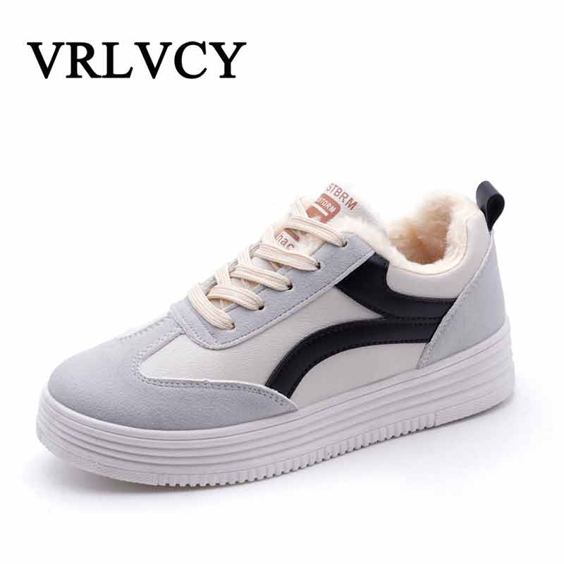 Winter Women's Shoes Casual Plush Leather Flock Winter Shoes Ladies Driving Ballet Shoe Woman Loafers Female Flats sneakers new summer shoes women breathable air mesh woman loafers platforms female flats shoe casual wedges ladies footwear driving shoes