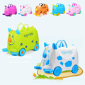 Letrend New Fashion Hot!!! Cartoon Cute Baby Luggage Trolley Suitcases Travel Bag Suitable For Children Girl Boy Baby Ride Trunk