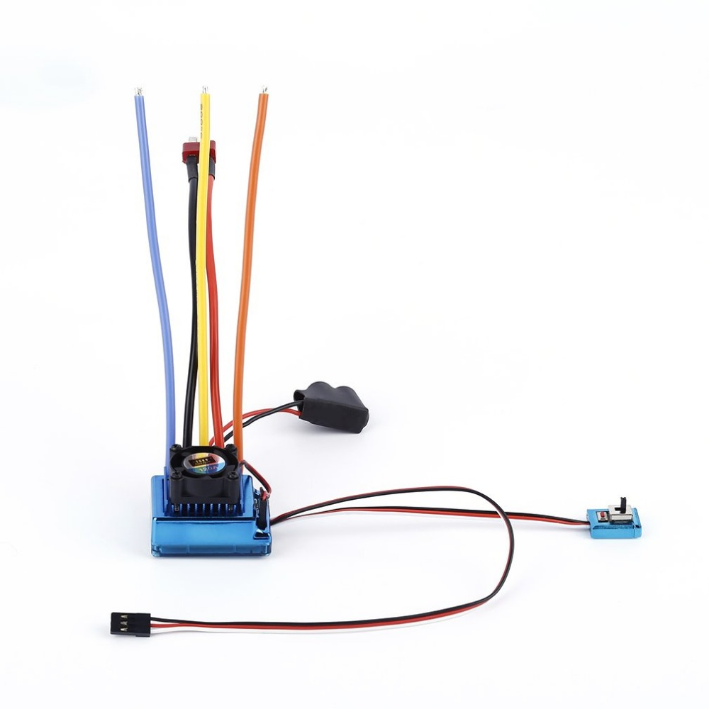 Professional 120A ESC Sensored Brushless Speed Controller For 1/8 1/10 Car/Truck Crawler Car Vehicle Used