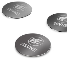 ESVNE Universal Magnetic Disk For Car Phone Holder Metal Plate Iron Sheets for Magnet Air Vent Mount Holder Car Holder Stand(China)